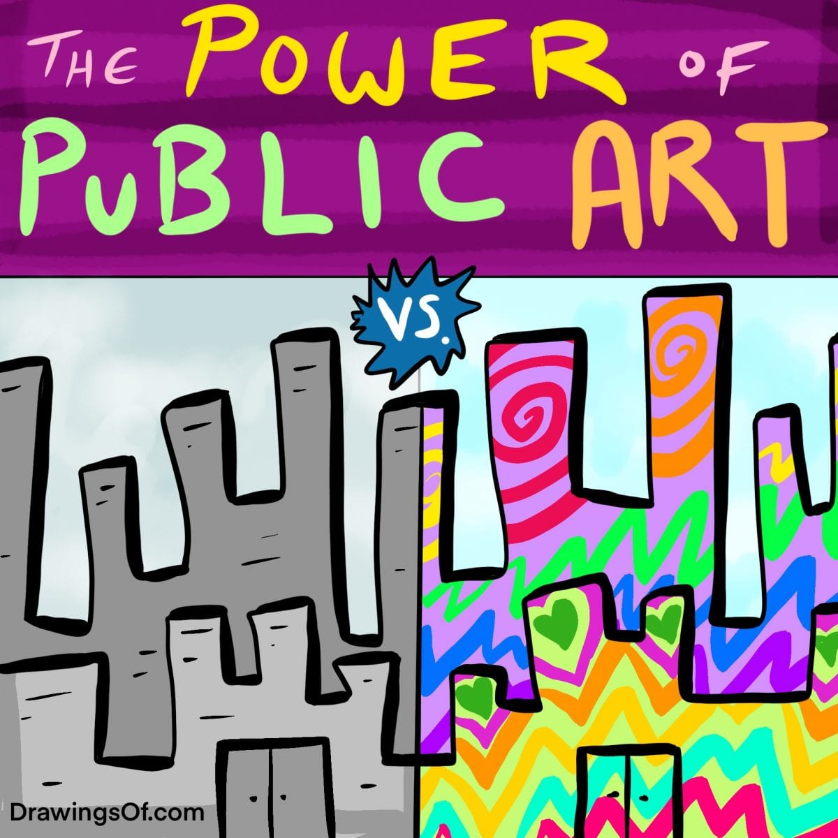 Why is public art important and powerful?