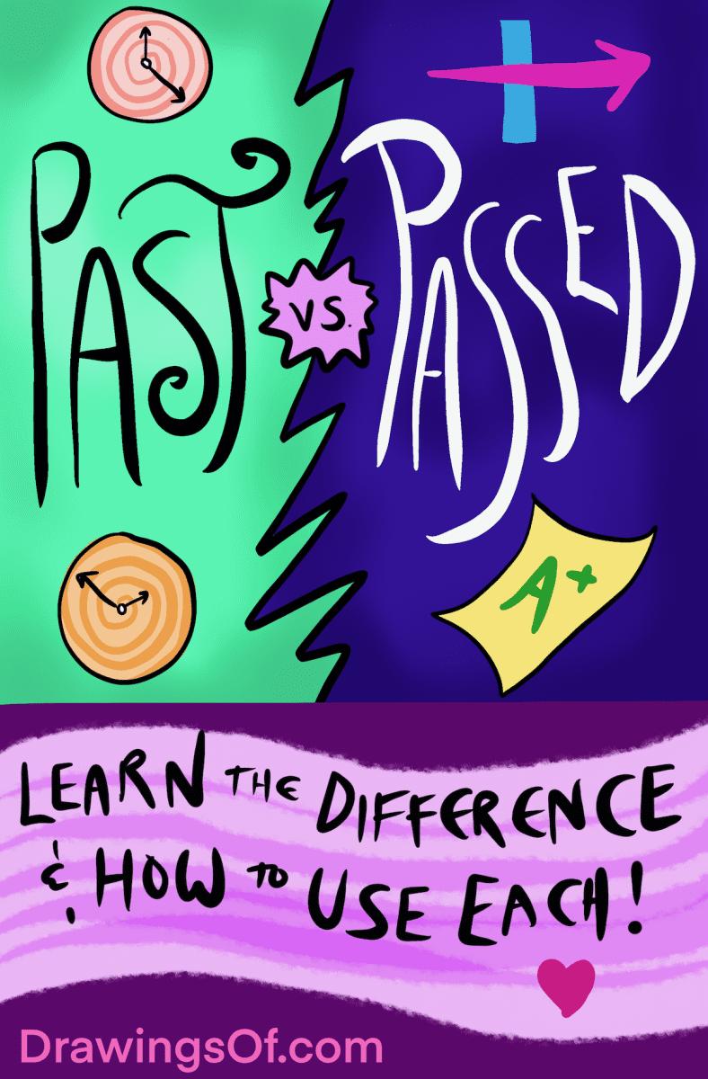 Passed vs. Past